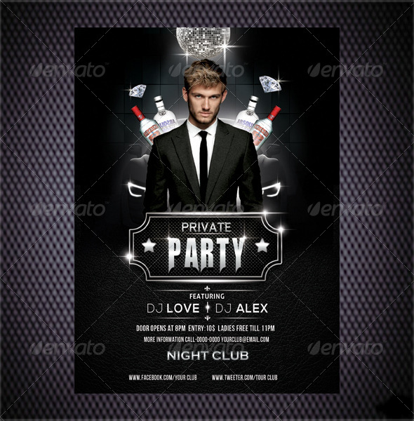 GraphicRiver Event Flyer 6739350