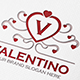 Valentino Heart Letter Crest Logo - GraphicRiver Item for Sale