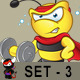 Super Bee Character - Set 3 - GraphicRiver Item for Sale