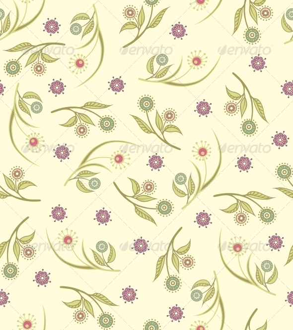 GraphicRiver Floral Pattern 6752454