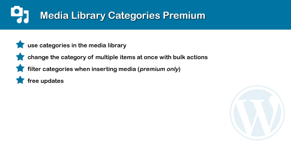 CodeCanyon Media Library Categories Premium 6691290