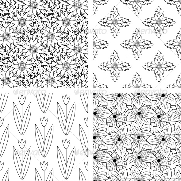 GraphicRiver Patterns Set 6754874
