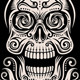Day of The Dead Skull Tattoo Vector Set - GraphicRiver Item for Sale