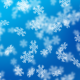 12 Snowflake Bokeh Backgrounds - GraphicRiver Item for Sale