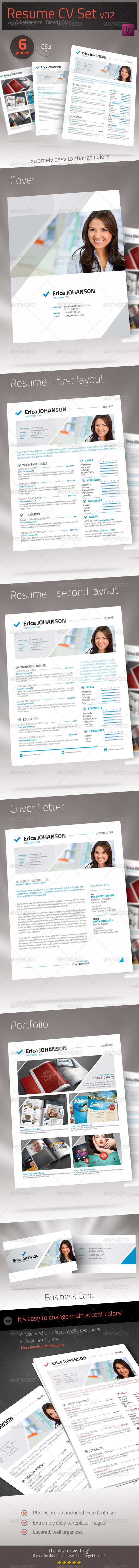 GraphicRiver Resume CV 02 6756790