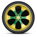 Rim of sports racing car - PhotoDune Item for Sale