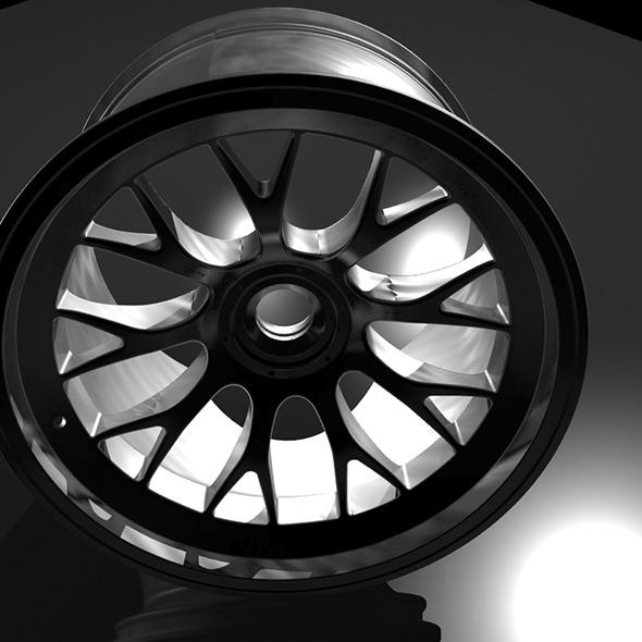 3DOcean car rim 6757763