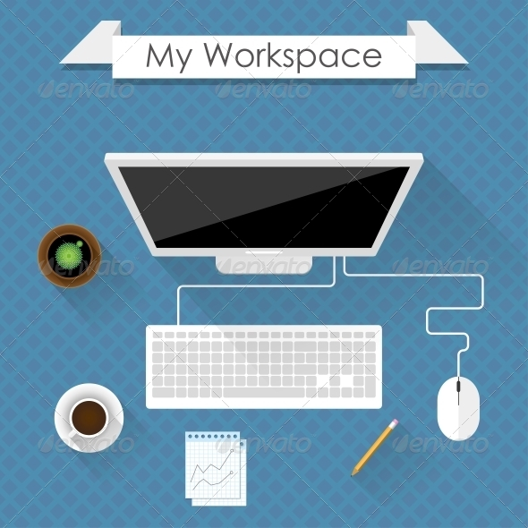 GraphicRiver Workspace 6757858