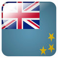 Glossy icon with flag of Tuvalu - PhotoDune Item for Sale