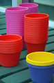 Colorful flowerpots - PhotoDune Item for Sale