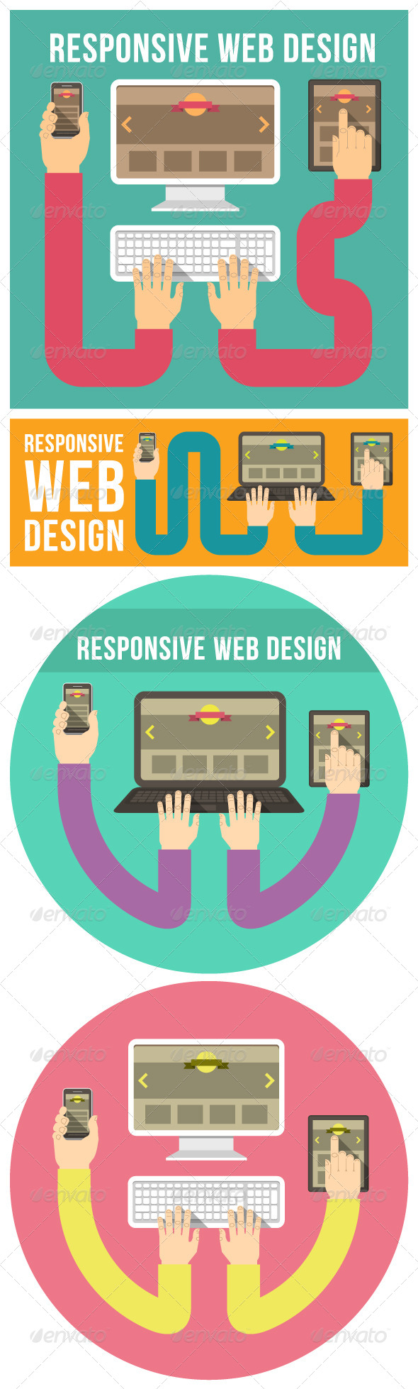 GraphicRiver Responsive Web Design Concepts 6760873