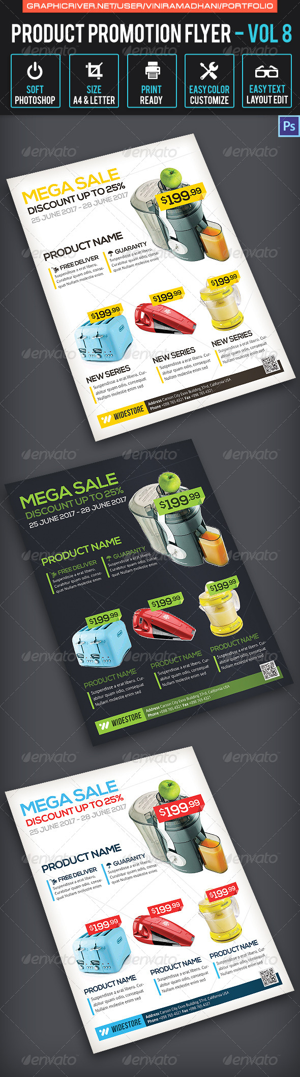 GraphicRiver Product Promotion Flyer Volume 8 6760956