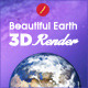 Beautiful Earth 3D Renders - 3DOcean Item for Sale