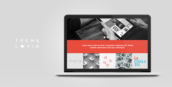 Bloq: Responsive and Multipurpose Flat Theme - Portfolio Creative