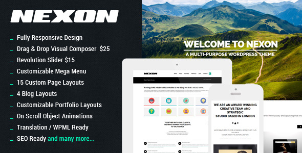 NEXON - Business WordPress Theme - NEXON Splash
