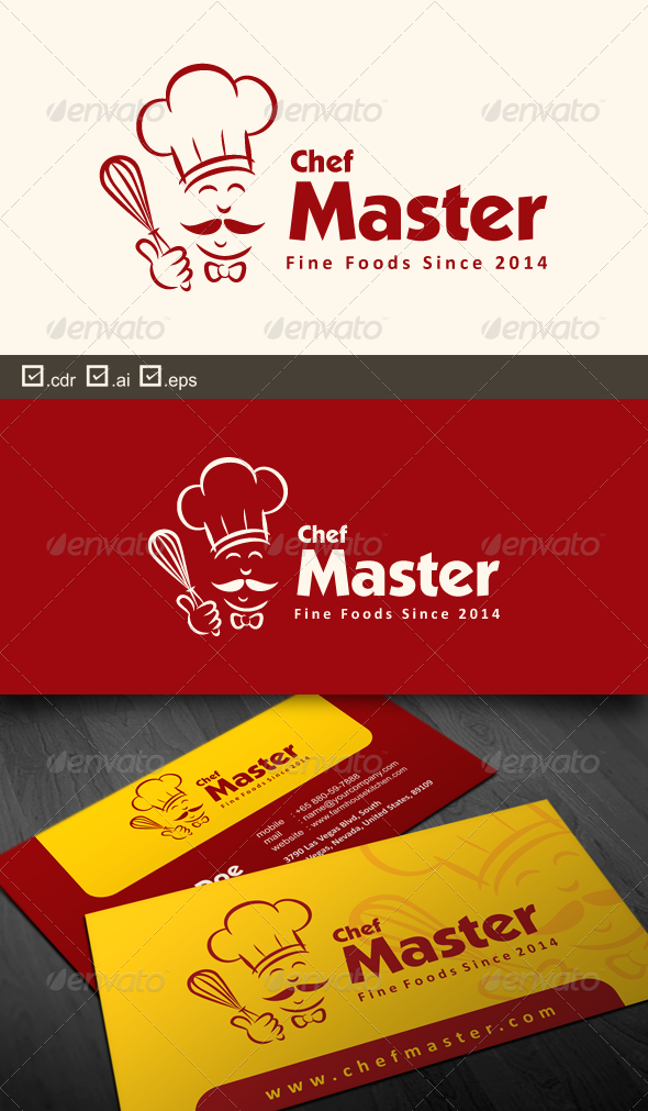 GraphicRiver Chef Master 6755856