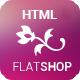 The New Flat Shop - HTML Template - ThemeForest Item for Sale
