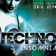 Techno Insomnia Party Flyer - GraphicRiver Item for Sale