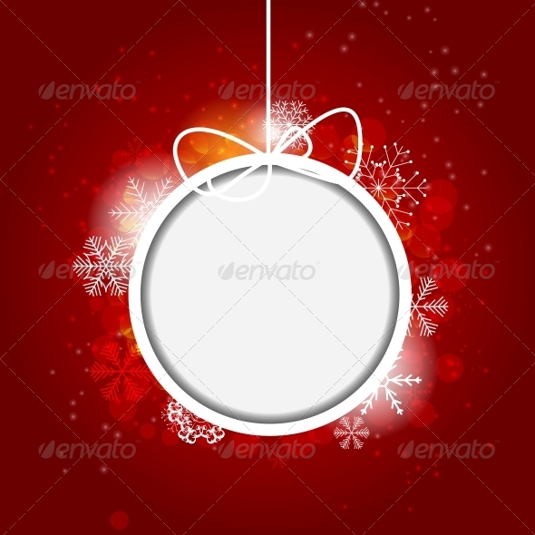 GraphicRiver Christmas Snowflakes Background 6765032