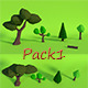 LowPoly Trees .Pack1 - 3DOcean Item for Sale