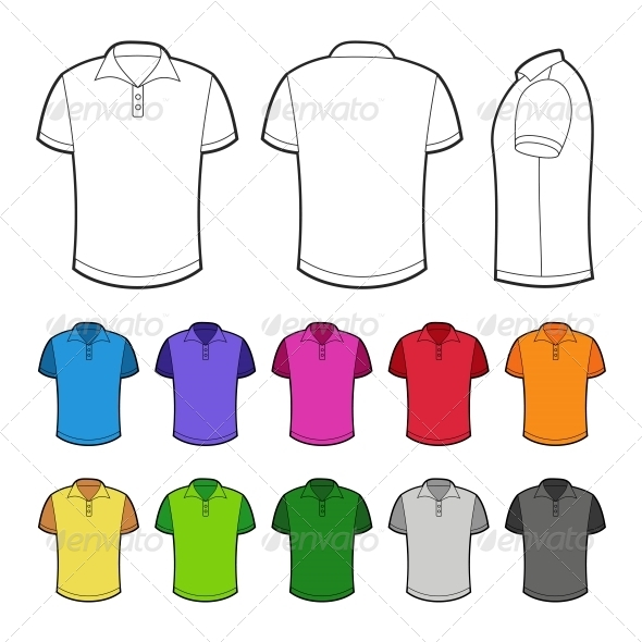 GraphicRiver Polo in Various Colors 6766600