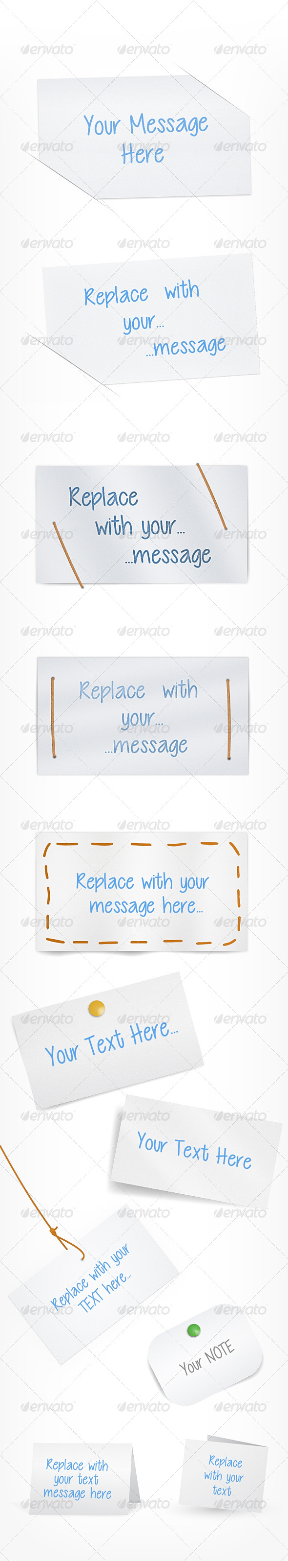 GraphicRiver Paper Text Blank 6684115