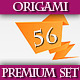 Origami Premium Rainbow Set - GraphicRiver Item for Sale