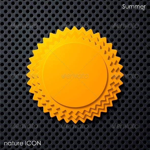 GraphicRiver Summer Icon 6767493