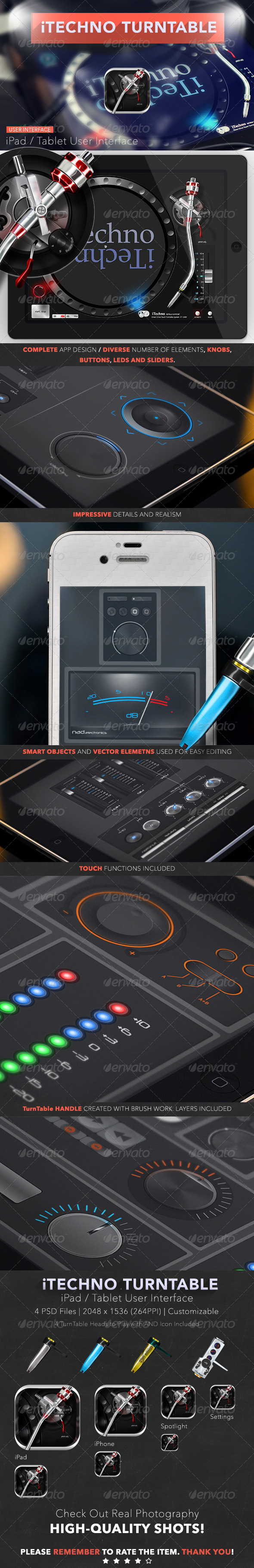 GraphicRiver iTechno TurnTable 2 6767518