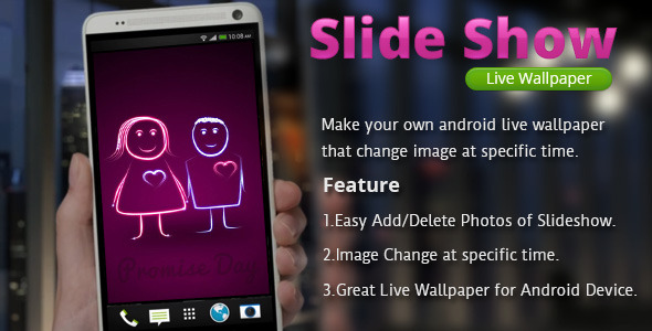 CodeCanyon Slide Show Live Wallpaper 6767700