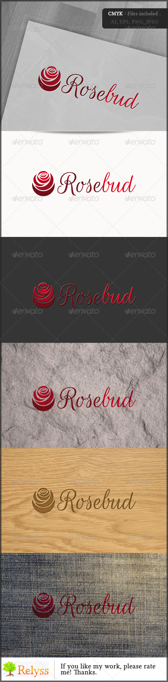 GraphicRiver Rosebud 6767710