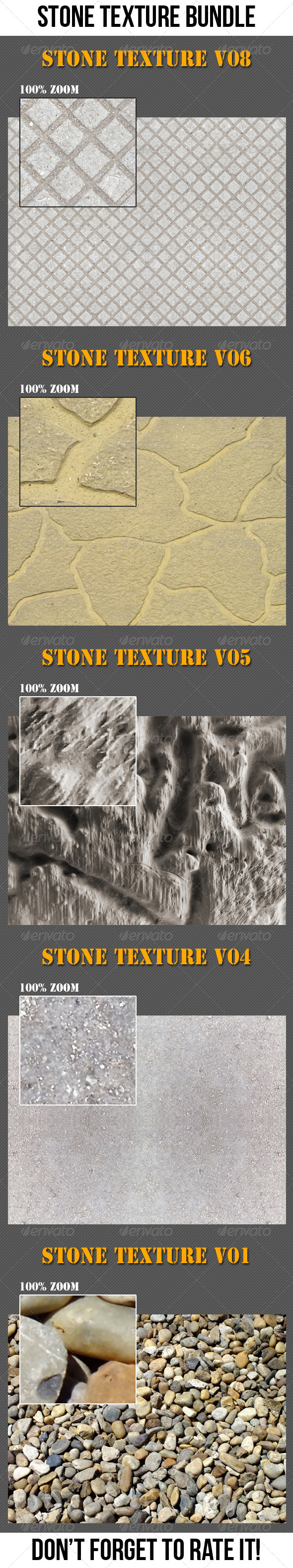 GraphicRiver Stone Texture Bundle 6767765