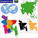 Bangladesh Map - GraphicRiver Item for Sale