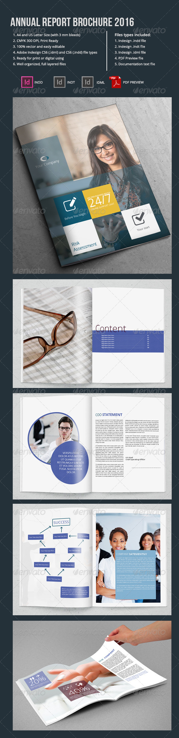 GraphicRiver Annual Report Brochure 2016 6767933