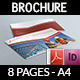 Corporate Brochure Template Vol.24 - 8 Pages - GraphicRiver Item for Sale