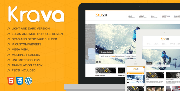 Krava | Multi-Purpose Theme - Creative WordPress