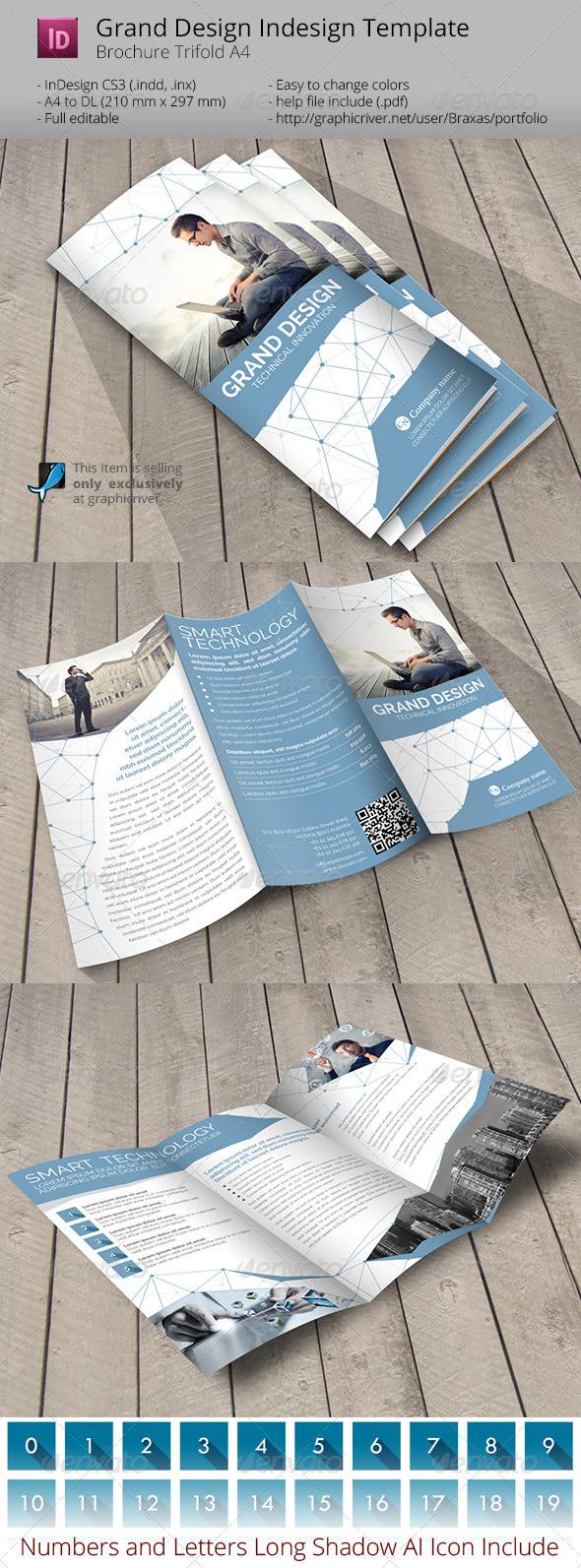 GraphicRiver Grand Design Trifold Indesign Template 6768838
