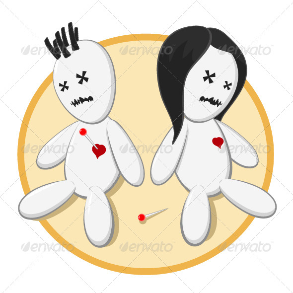 GraphicRiver Voodoo Dolls 6769116