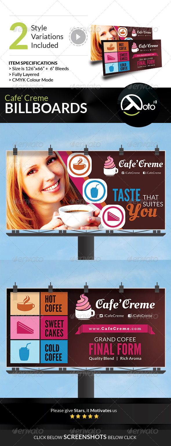 GraphicRiver Cafe Creme Billboard Banner 6767010