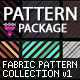 Fabric Patterns Collection v1 - GraphicRiver Item for Sale