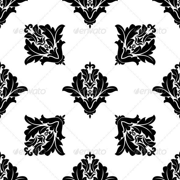 GraphicRiver Floral Seamless Pattern 6771725