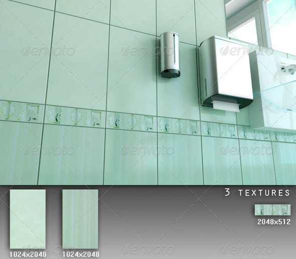 3DOcean Professional Ceramic Tile Collection C079 708723