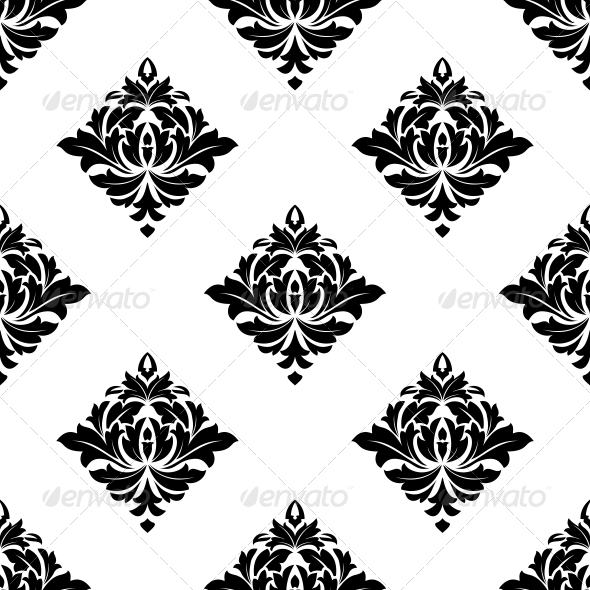 GraphicRiver Floral Seamless Pattern 6772026