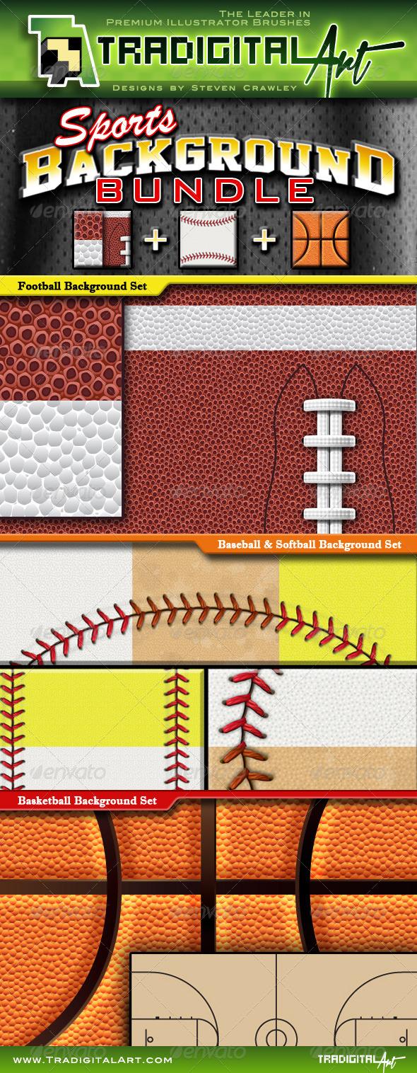 GraphicRiver Sports Background Bundle 6763183