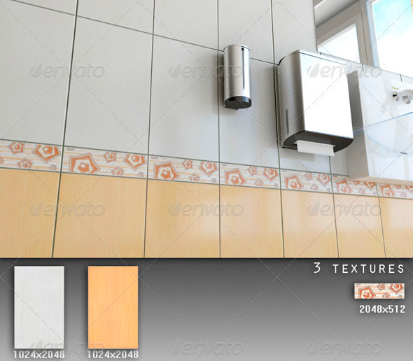 Professional Ceramic Tile Collection C080 - 3DOcean Item for Sale
