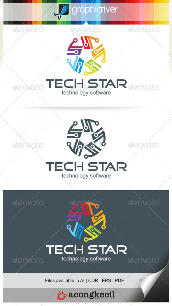 GraphicRiver Tech Star V.2 6772935