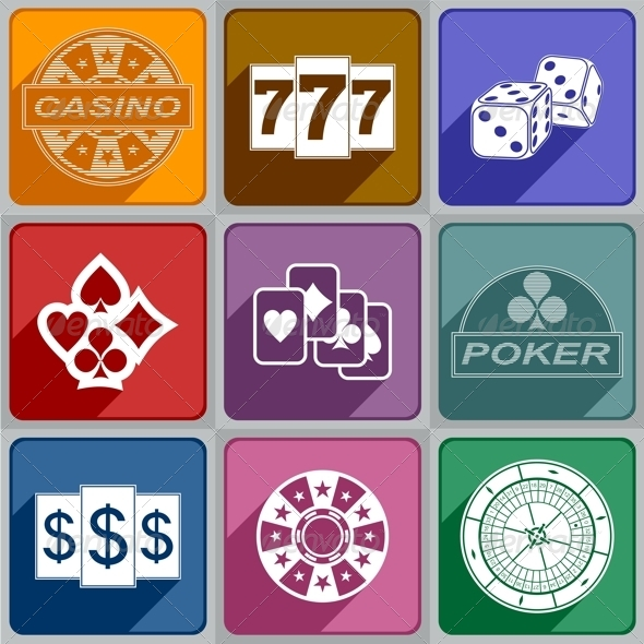 GraphicRiver Icons Casino 6773798