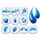 Water Drop Shapes Collection - GraphicRiver Item for Sale