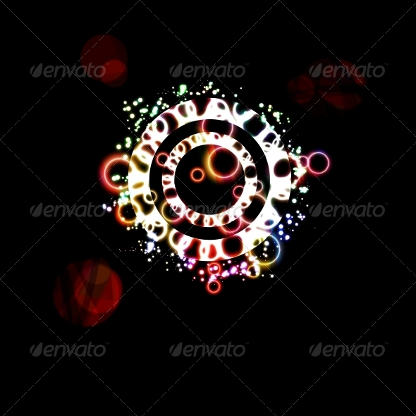 GraphicRiver Abstract Background with Colorful Bubbles 6775053