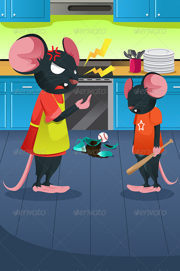 GraphicRiver Angry Mouse 6775685
